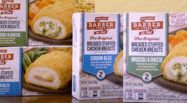 barber foods prepared meals